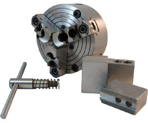 NEW! Self-Centering Dust-Proof 3 Jaw Universal SG Iron Body Chucks with 1.5X60 degree jaw