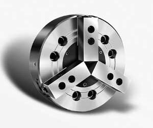 3 Jaw Wedge Type Closed Center Power Chuck